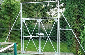 Chain Link Gate